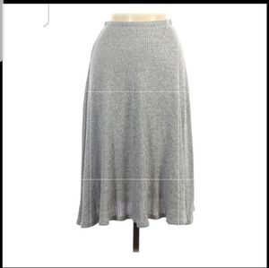 Abound gray cotton skirt